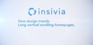Design Trends: Long Verticle Scrolling Homepages