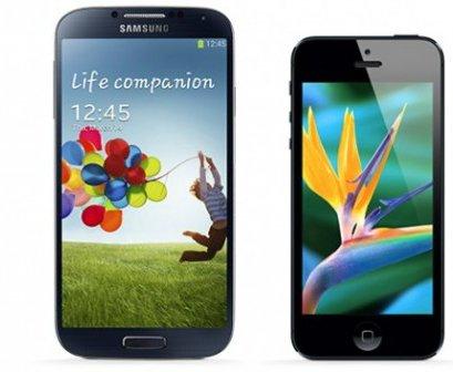 galaxy-s4-vs-iphone