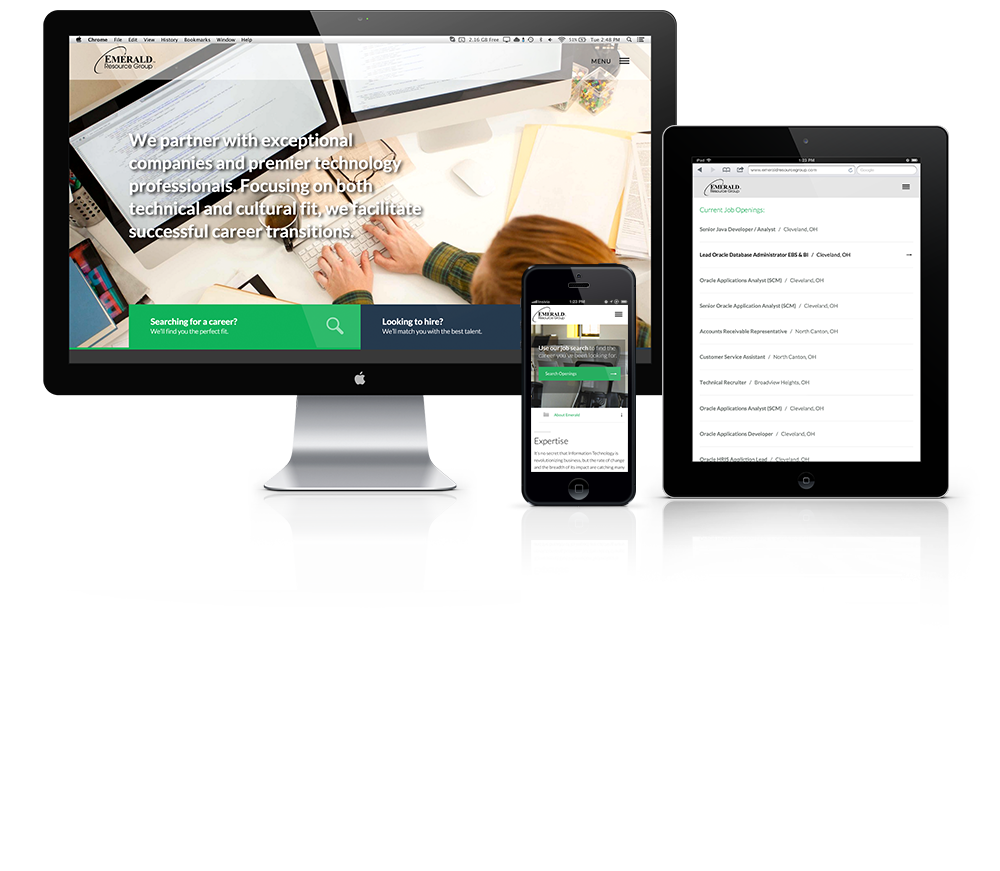 Emerald Resource Group Web Design