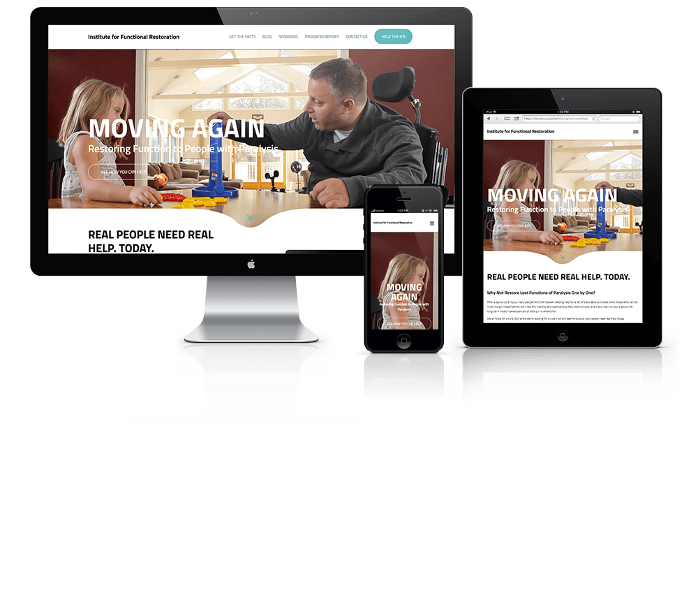 Institute For Functional Restoration Web Design