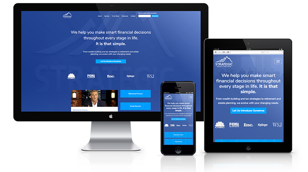 Wealth Management Web Design