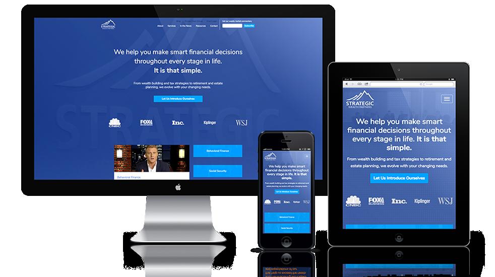 Wealth Management Web Design