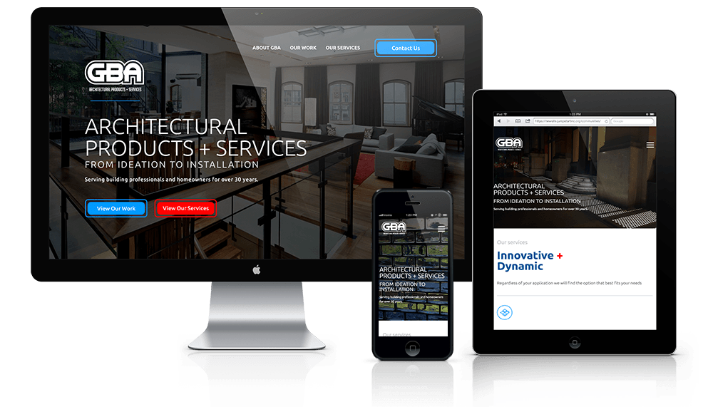 Construction Products Website Design