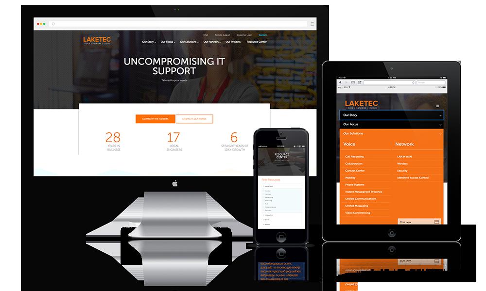 IT Firm Website Design