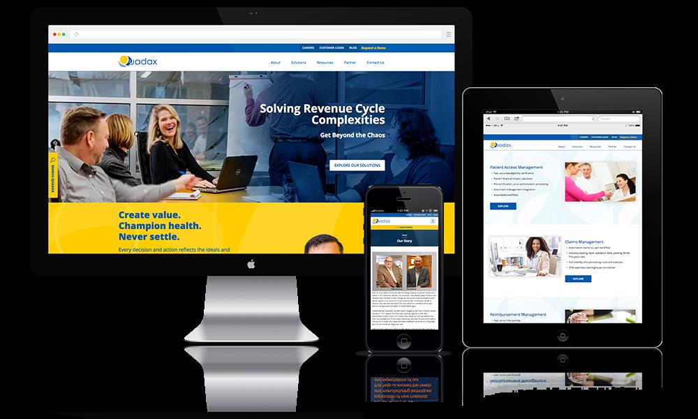 Enterprise Health Software Website Design