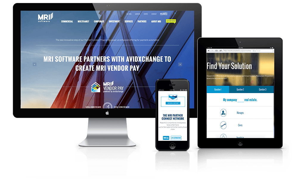 Enterprise Software Website Design