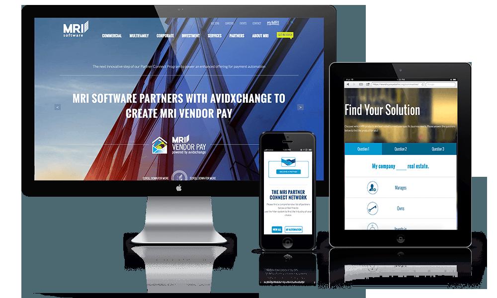 Enterprise Software Website Design