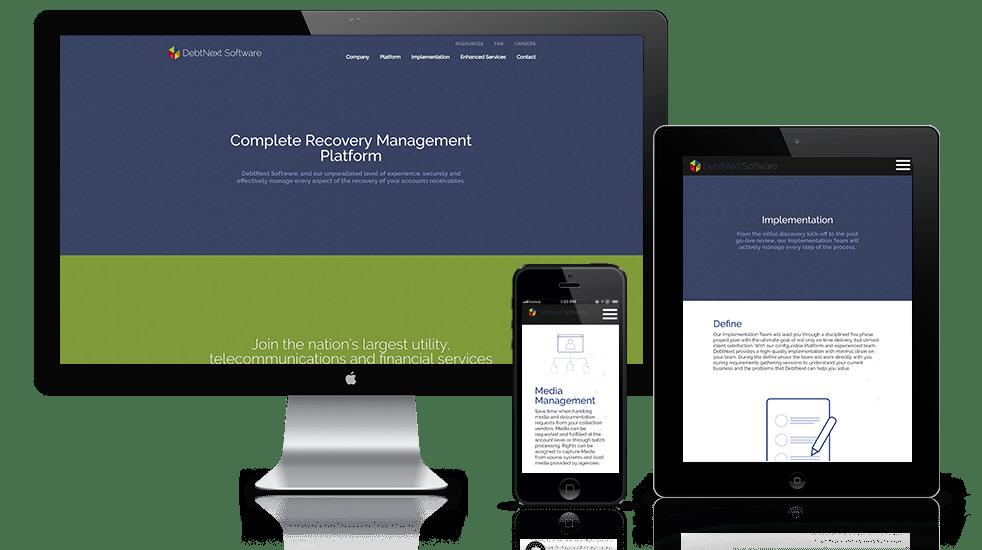 Software Company Website Design