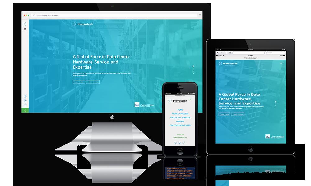 Datacenter Website Design