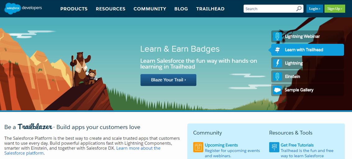 Salesforce Developer Center