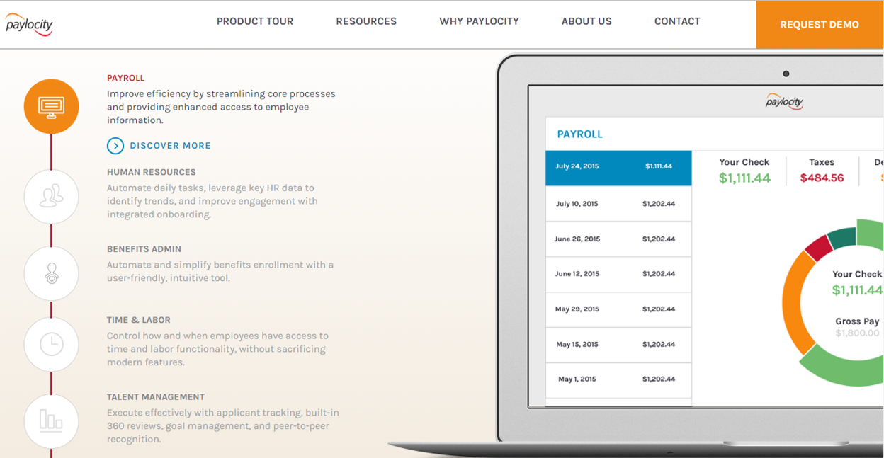 Web Design Product Tour