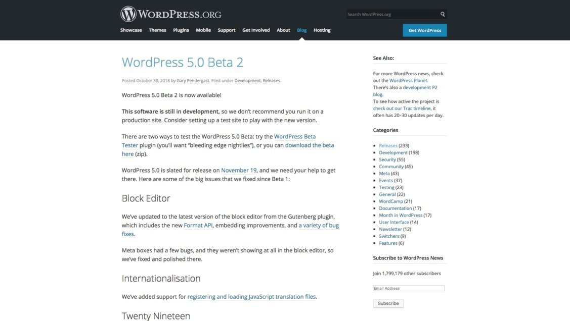 SaaS Release Notes For SEO