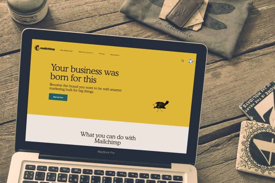 Marketing B2B SaaS - Mailchimp