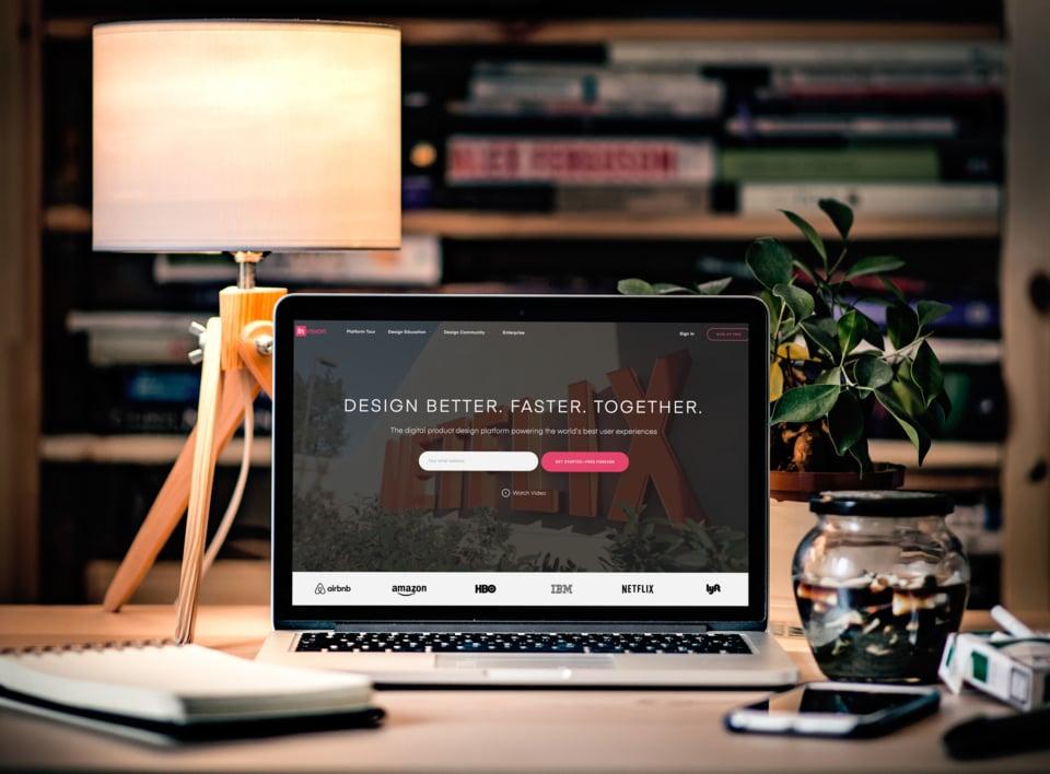 SaaS Website Design Example