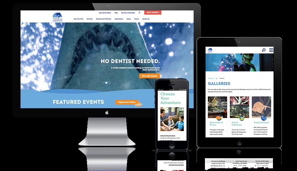 Aquarium Website Design