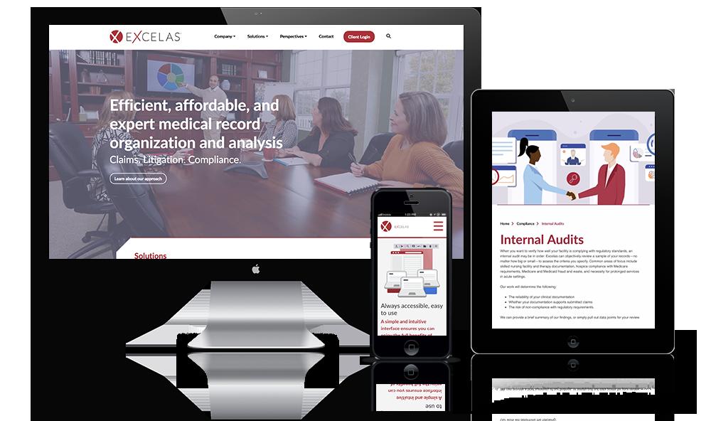 Healthcare Software Website Design
