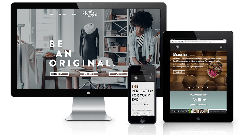 Property Developer Website Design