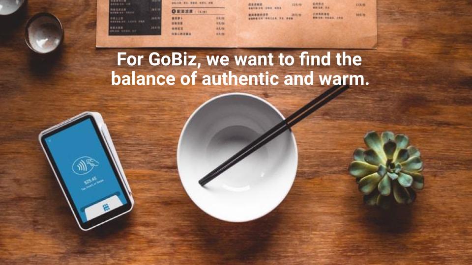New GoBiz Brand