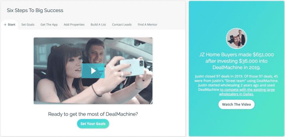 DealMachine Dashboard